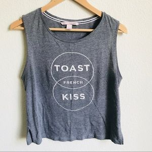 Victoria's Secret French Toast French Kissing tank